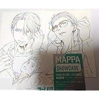 ユーリ!!! on ICE MAPPA SHOWCASE 半券キャンペーン ポストカード ヴィクトル 勇利 MAPPA展