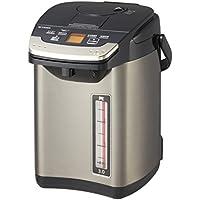 タイガー 魔法瓶 電気 ポット 3L バーミリオン 蒸気レス 節電 VE 保温  とく子さん PIG-S300-K Tiger