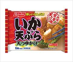 ニッスイ ほしいぶんだけ てんつゆかけ いか天ぷら 6個 × 12入