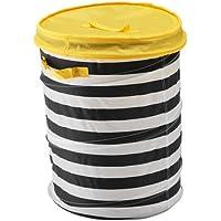 IKEA(イケア) FLYTTBAR バスケット ふた付き, イエロー 503.288.25