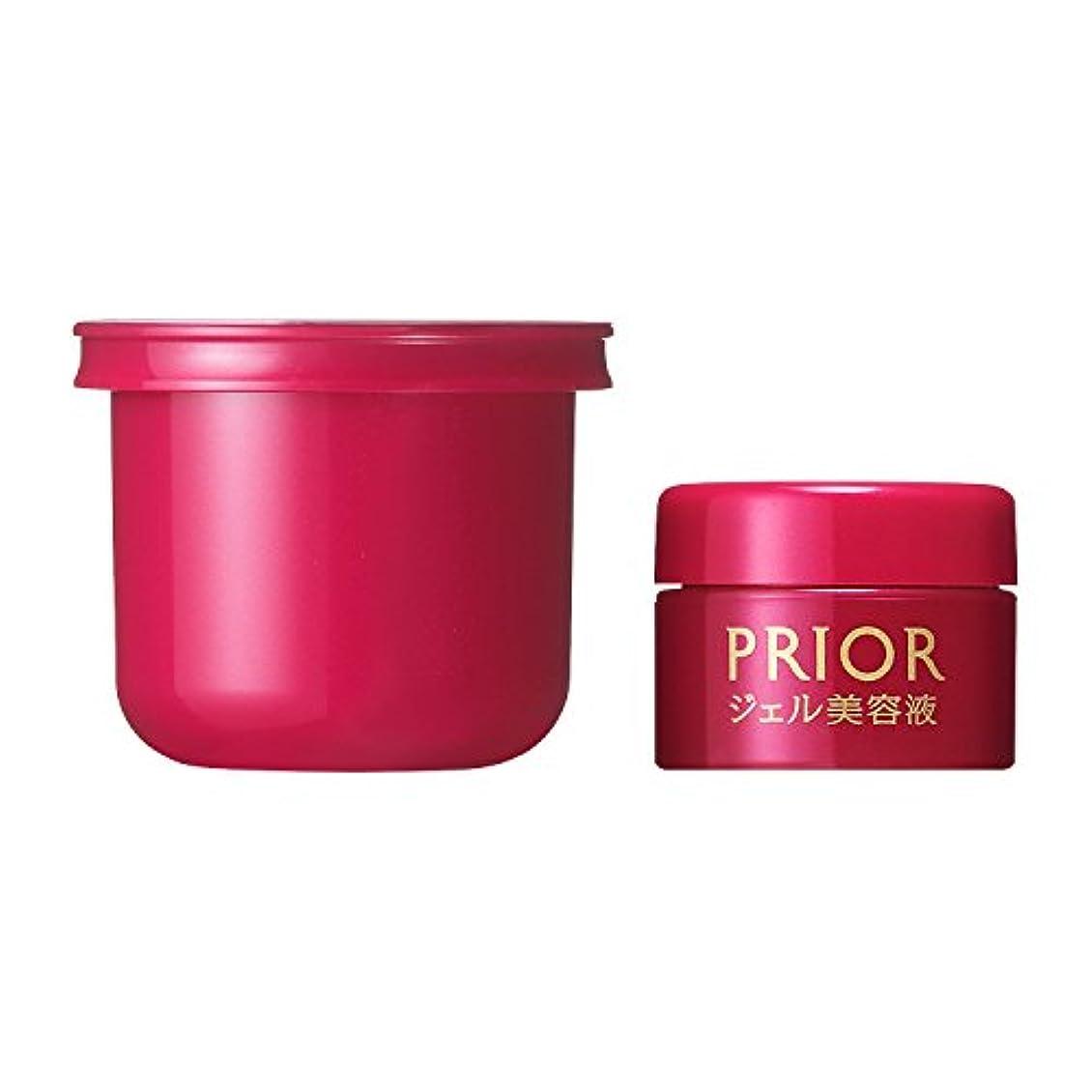 誘惑する乳剤パフプリオール ジェル美容液 つけかえ用 限定セット a ミニサイズ付き 48g + 7g