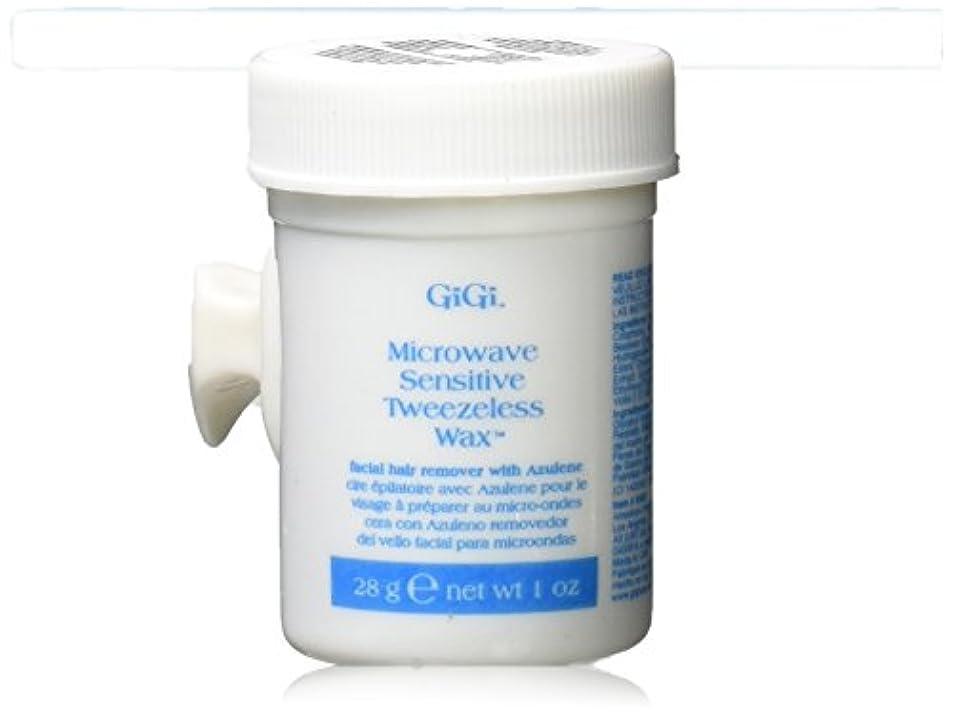 GiGi 電子レンジTweezelessワックス、1オンス 1オンス