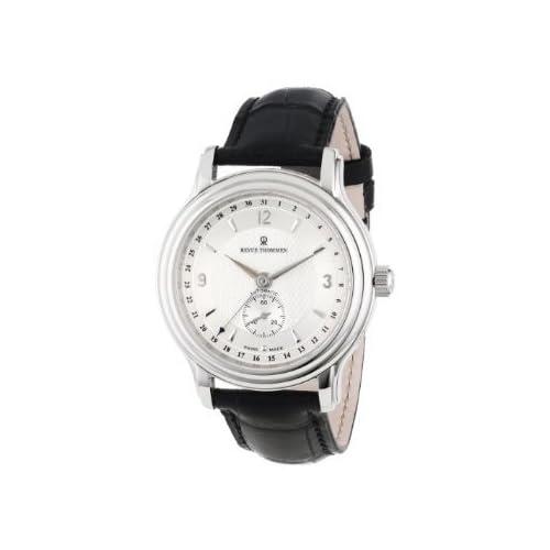 [レビュートーメン]Revue Thommen Men's 14200.2532 Classic Mens Silver Face Pointer Date Watch Watch 腕時計 [並行輸入品]
