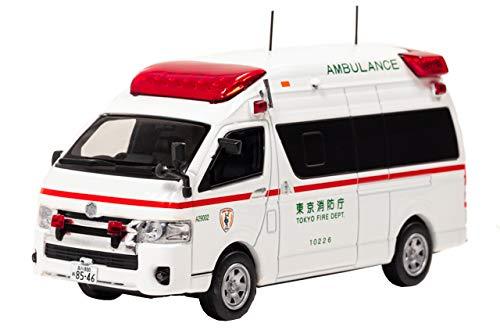 1/43 CARNEL トヨタ ハイメディック 2017 東京消防庁高規格救急車