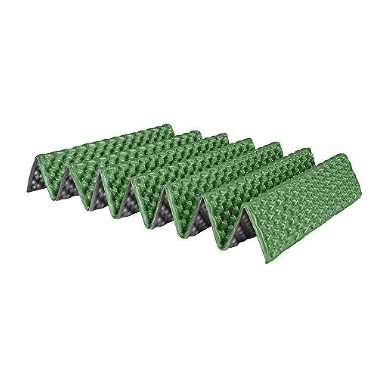 公平リンク怒っているキャンピングマット 防湿 パッドピクニック マット 軽量 折り畳み パッド