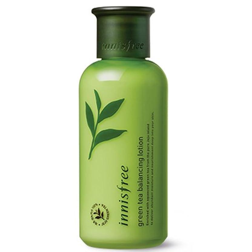 夕方汚れた論理的に[INNISFREE]イニスフリーグリーンティーバランシング ローション160ml innisfree green tea balancing lotion 160ml