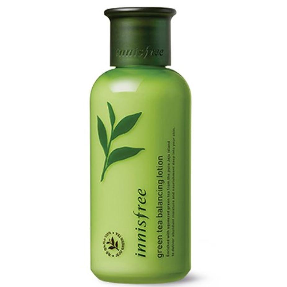郊外王室マウスピース[INNISFREE]イニスフリーグリーンティーバランシング ローション160ml innisfree green tea balancing lotion 160ml