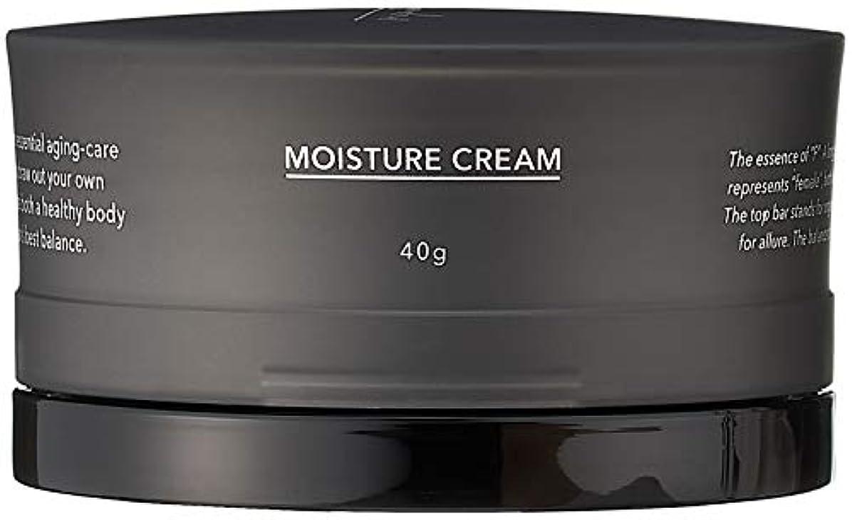 美人シロクマ透けるF organics(エッフェオーガニック) モイスチャークリーム 40g