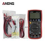 Intercorey ANENGデジタルLCDマルチメータAC/DC電圧計電流計オートレンジダイオードオームFreqキャパシタンス温度テスターTure RMS with line