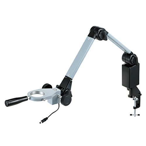 ホーザン(HOZAN) フレキシブルアーム 光学機器用部品 アーム有効長:509mm 取付径50mmΦ 照明接続用コード内蔵 L-519