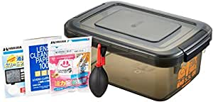 HAKUBA ドライボックスNEO 5.5L + 乾燥剤 + 他メンテナンス用品3点セット HTMB-YM
