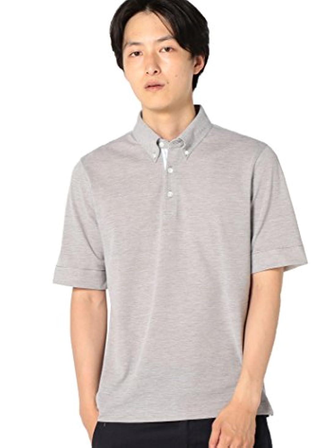 石のスケルトン団結(シップス) SHIPS tシャツ SC: COOLMAX(R) コットン/リネン カノコ ボタンダウン ポロシャツ□ 112120890