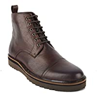 CROFT Men's Cadman Hi top Toe Cap Boot, Choc/Brown