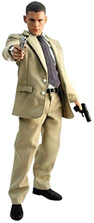 ムービー・マスターピース  - 1/6 Scale Fully Poseable Figure: Prison Break - Michael Scofield (Suit Ver.)