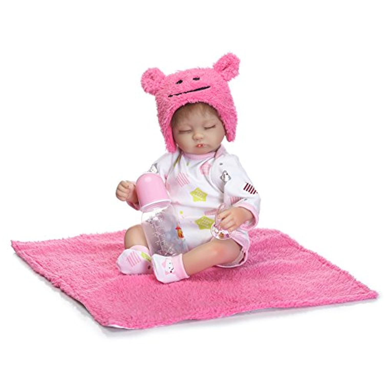 rayish Rebornベビー人形ソフトSilicone 18インチ45 cm磁気Lovely Lifelike少年少女おもちゃかわいい赤ちゃん