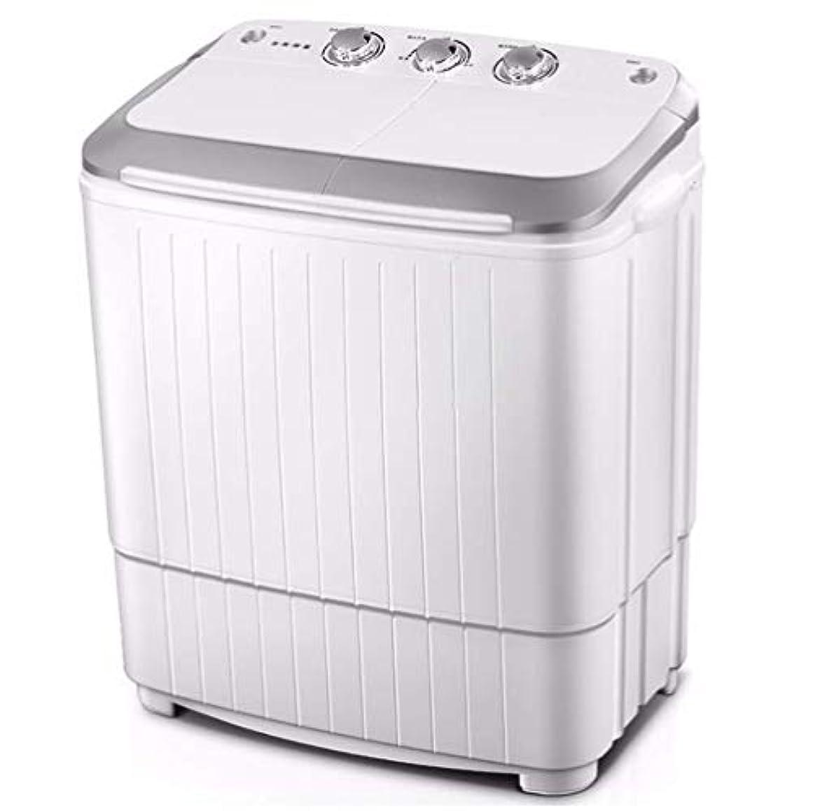 はちみつ滞在近代化するKk コンパクトなミニツインタブ11 LBトップロード洗濯機/洗濯機スピナー、内蔵重力ポンプ、ミニ洗濯機半自動二重円筒の小型家電のw (Color : E)