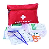 VEwinter Safety First Aid Kit Medical Survival Bag Small First Aid Kit Emergency Survival Set for Workplace Office Home Outdoor Survival
