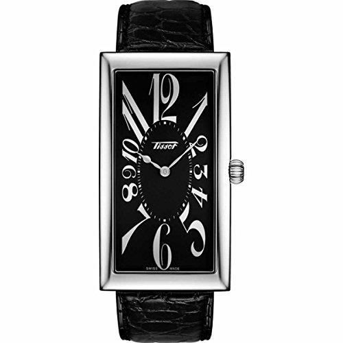 [ティソ]TISSOT HERITAGE BANANA (ヘレテージ バナナウォッチ) T117.509.16.052.00 ブラックカラー 腕時計[正規輸入品]