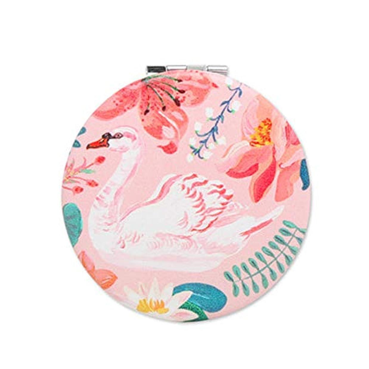 思春期の写真を描く着飾る7321Design(7321デザイン) コンパクトミラー (ナタリーレテ(ウォーターリリー))