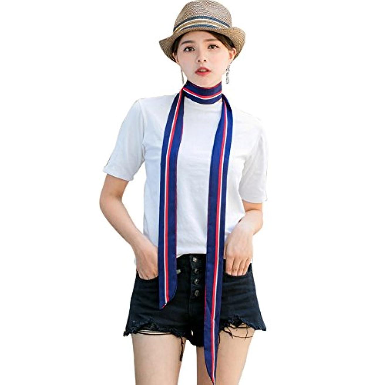 相談する同じ去るPakaze Rew小さいスカーフの女性 の細い長条 スカーフ 夏 マフラー ベルト リボン バッグはリ ボンを飾ります 旅行 通勤用 スカーフ ギフト春秋 マフラー おしゃれ レディース