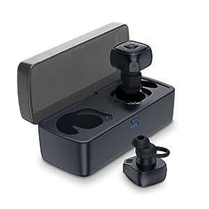 Jeemak Bluetooth イヤホン 片耳 両耳とも対応 軽量 防水 スポーツ 仕様 左右分離 カナル型 Bluetooth 4.2 ワイヤレス ヘッドホン マイク内蔵 ハンズフリー通話可 iPhone Android 対応