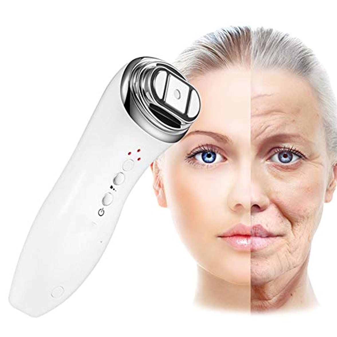 超高層ビル取るブレースガルバニックMicrocurrentフェイスリフトマシン - デバイスを引き締める顔の皮膚 - 顔と首のアンチエイジングマッサージツール