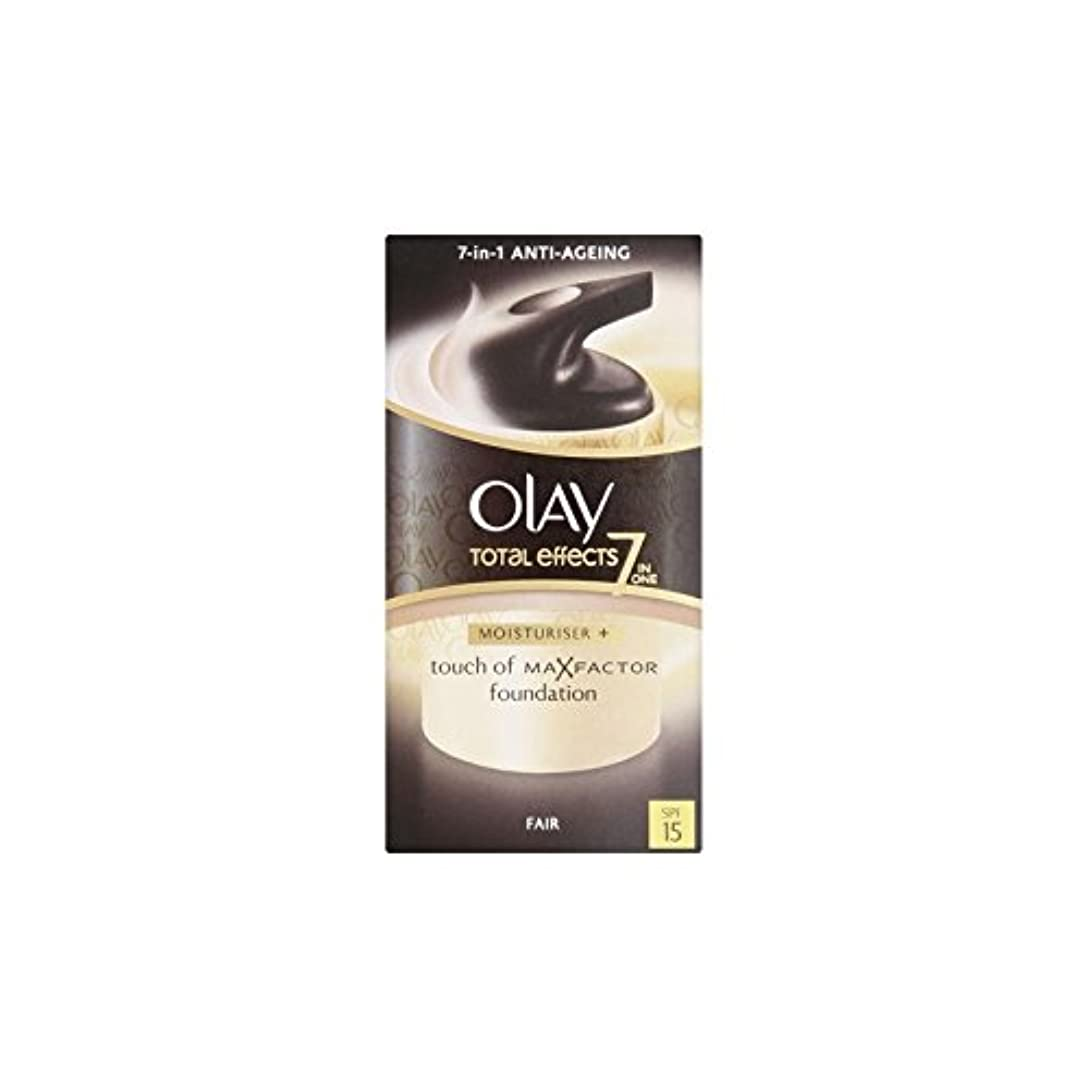 降下花嫁チャートOlay Total Effects Moisturiser Bb Cream Spf15 - Fair (50ml) (Pack of 6) - オーレイトータルエフェクト保湿クリーム15 - フェア(50ミリリットル...