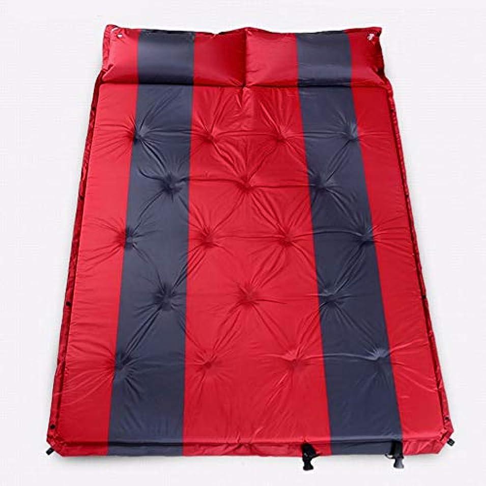 最愛の同性愛者相談するYBJPshop 寝袋 スリーピングマット屋外テントスリーピングパッド自動インフレータブルクッション防水広く厚いキャンプキャンプマット 寝袋の裏地、キャンプ、登山旅行