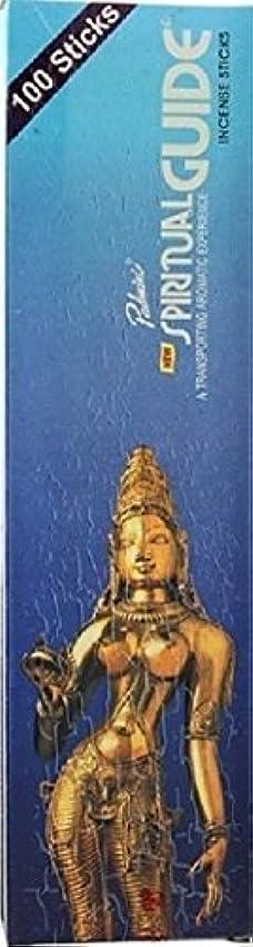 貪欲周波数外交Spiritual Guide – 100スティックボックス – Padmini Incense