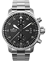 e81b0e0c23 [フォルティス]FORTIS Cockpit One Chronograph (コックピット 1 クロノグラフ) 腕時計 ...