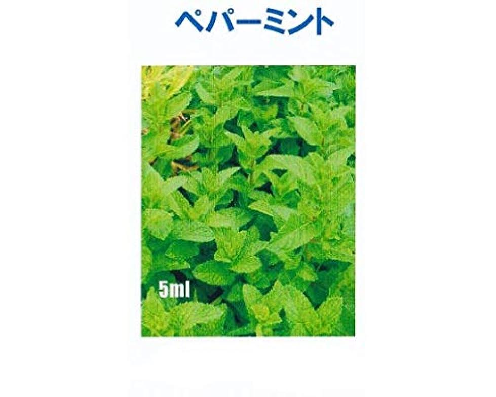 減らすれる昆虫アロマオイル ペパーミント 5ml エッセンシャルオイル 100%天然成分