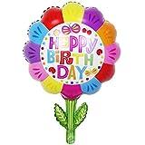 誕生日 飾り付け バルーン [風船 装飾 パーティー デコレーション バースデー 特大 風船 空気入れ付] 【BELSUS正規品】