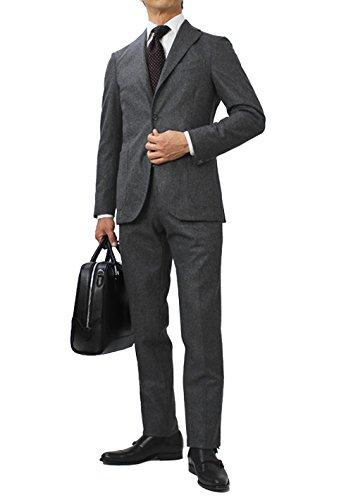 BOGLIOLI K.JACKET ウール フランネル 3B段返り スーツ