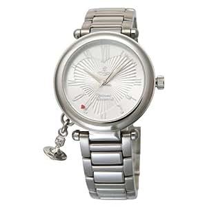 [ヴィヴィアンウエストウッド]Vivienne Westwood 腕時計 オーブ シルバー ステンレス クォーツ レディース VV006SL レディース 【並行輸入品】