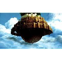 ジブリ美術館限定 ポストカード 天空の城ラピュタ 空に浮かぶ城