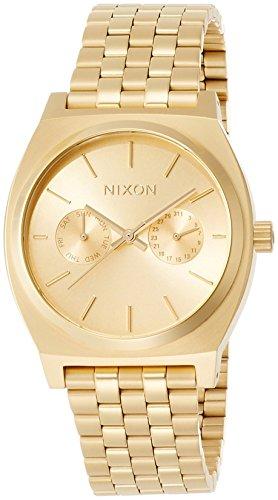 [ニクソン]NIXON 腕時計 TIME TELLER DELUXE: ALL GOLD NA922502-00  【正規輸入品】