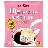 ブルックス ドリップバッグ コーヒー 10gだから美味しいモカブレンド 10g×150袋