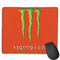 Monster Energy モンスターエナジー 滑り止め用デスクトップのマウスパッドにノートパンコンのマウスパッドを25X30CM当てた