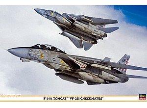 1/48 F-14Aトムキャット VF-211チェックメイツ