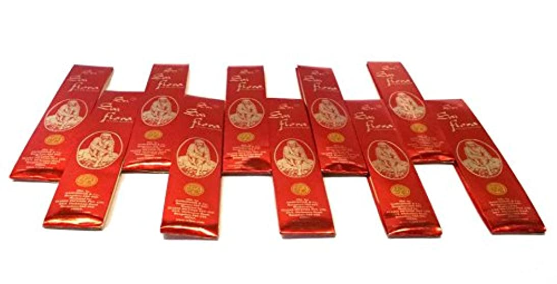 明らかできない矢印SAI Flora Incense Agarbati ~ 40ボックス( 25グラム)バルクパック~購入でバルクと保存
