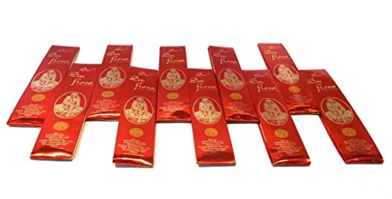 平方予測食い違いSAI Flora Incense Agarbati ~ 40ボックス( 25グラム)バルクパック~購入でバルクと保存