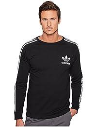 (アディダス) adidas メンズタンクトップ・Tシャツ California Long Sleeve Tee Black 2XL 2XL [並行輸入品]