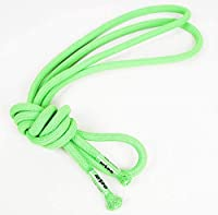 NISPO 新体操与える 新体操ロープ 6色 3M [並行輸入品] (緑)