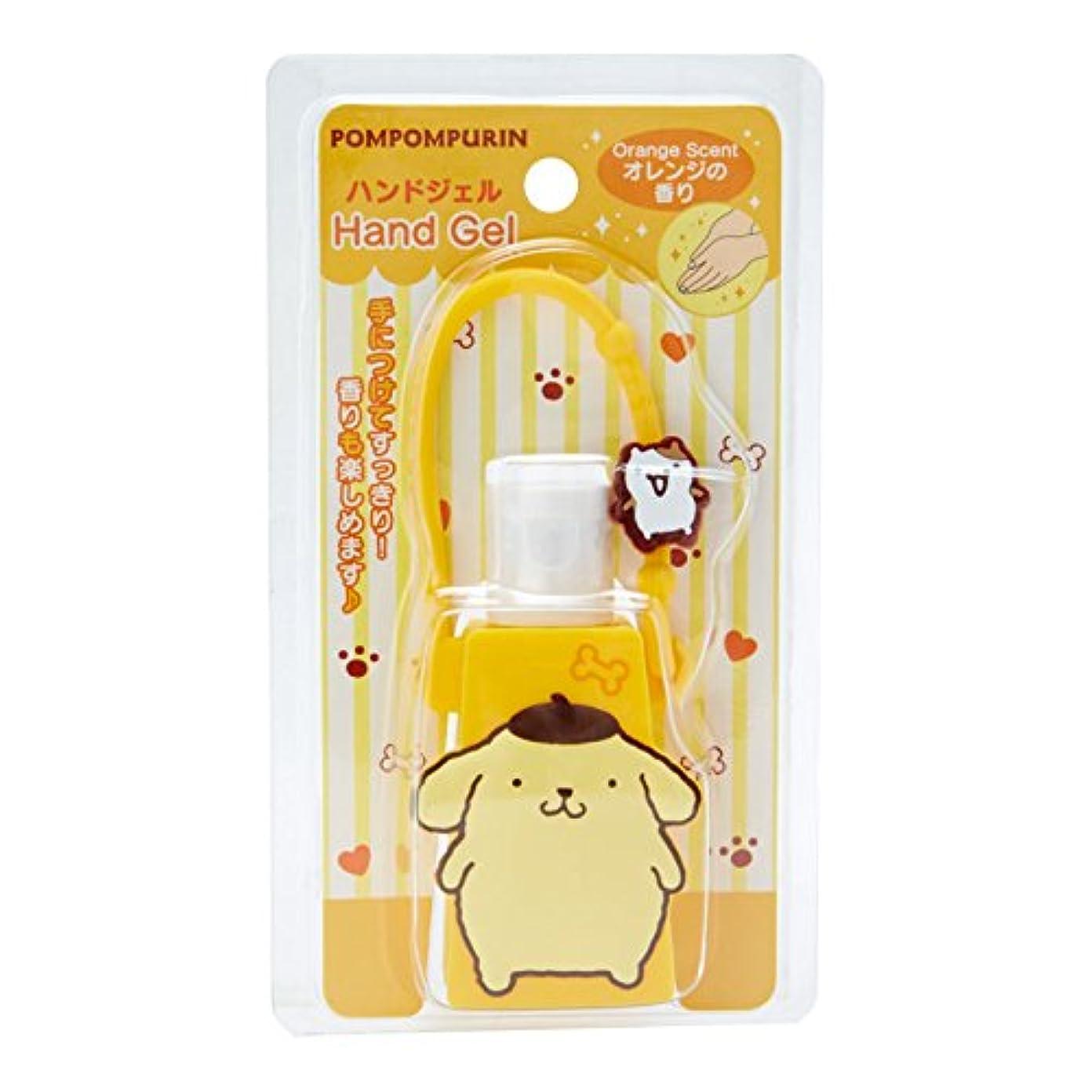 ミリメートルモーション透過性ポムポムプリン 携帯ハンドジェル(オレンジの香り)