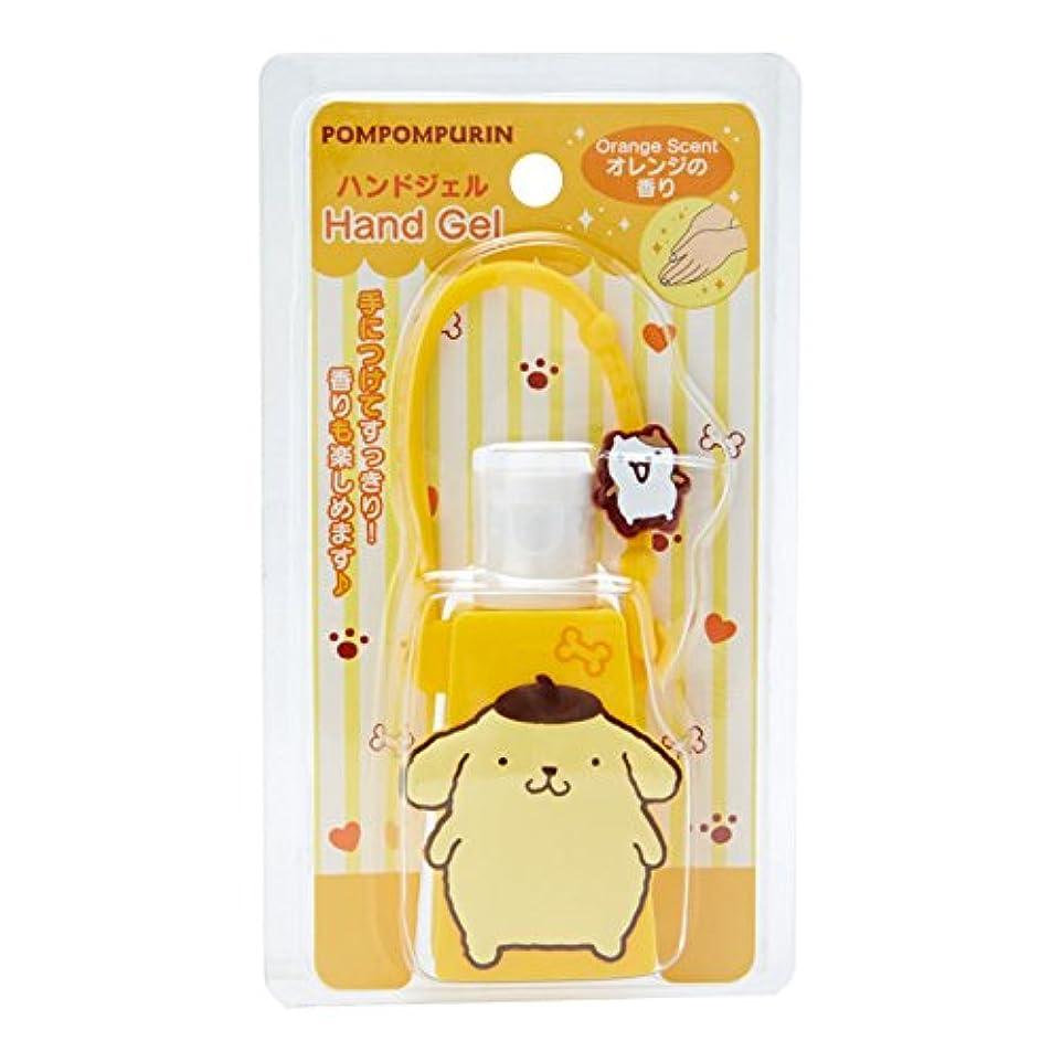 愚か生き物専らポムポムプリン 携帯ハンドジェル(オレンジの香り)