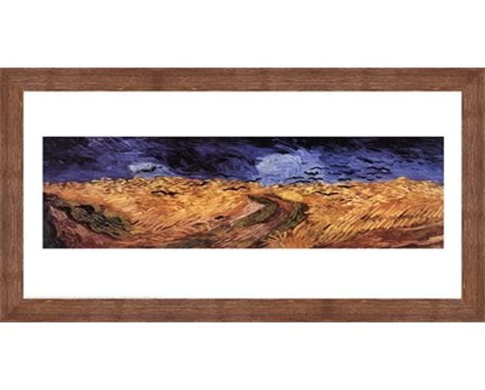 増加する倒産教えてWheatfield with Crows、c.1890 Vincent van Gogh – 30 x 24インチ – アートプリントポスター LE_25136-F10570-30x24