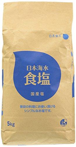 日本海水食塩 5kg