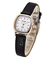 レディース腕時計 lady's women's girls Leather Strap watches wrist quartz bangle watch WSZ@JPZ016WBJ