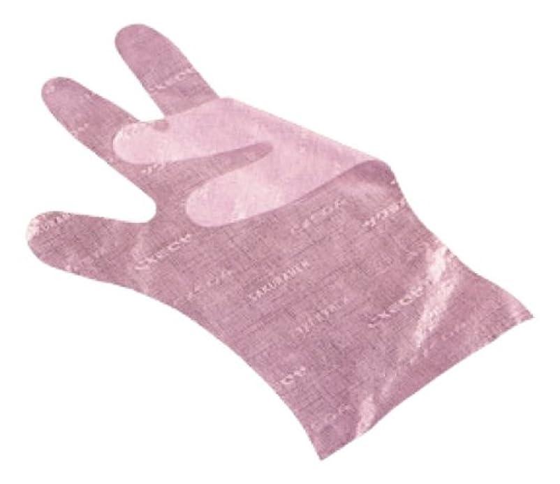 承認する過剰現象サクラメン手袋 デラックス(100枚入)M ピンク 35μ