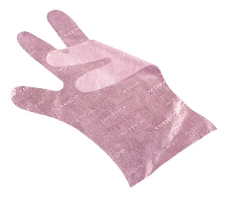 警官実験的非公式サクラメン手袋 デラックス(100枚入)S ピンク 35μ